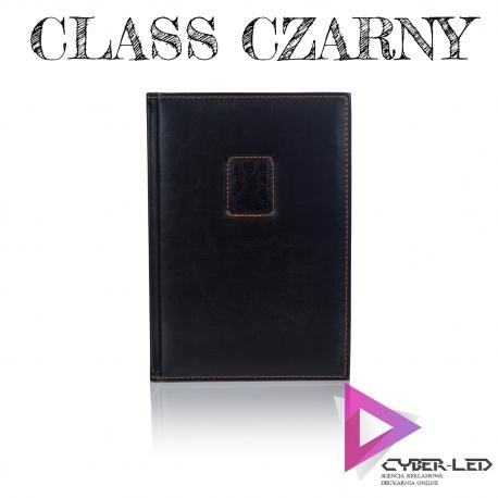 Kalendarz A5 książkowy czarny Class