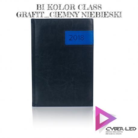 bi kolor class grafit ciemny niebieski